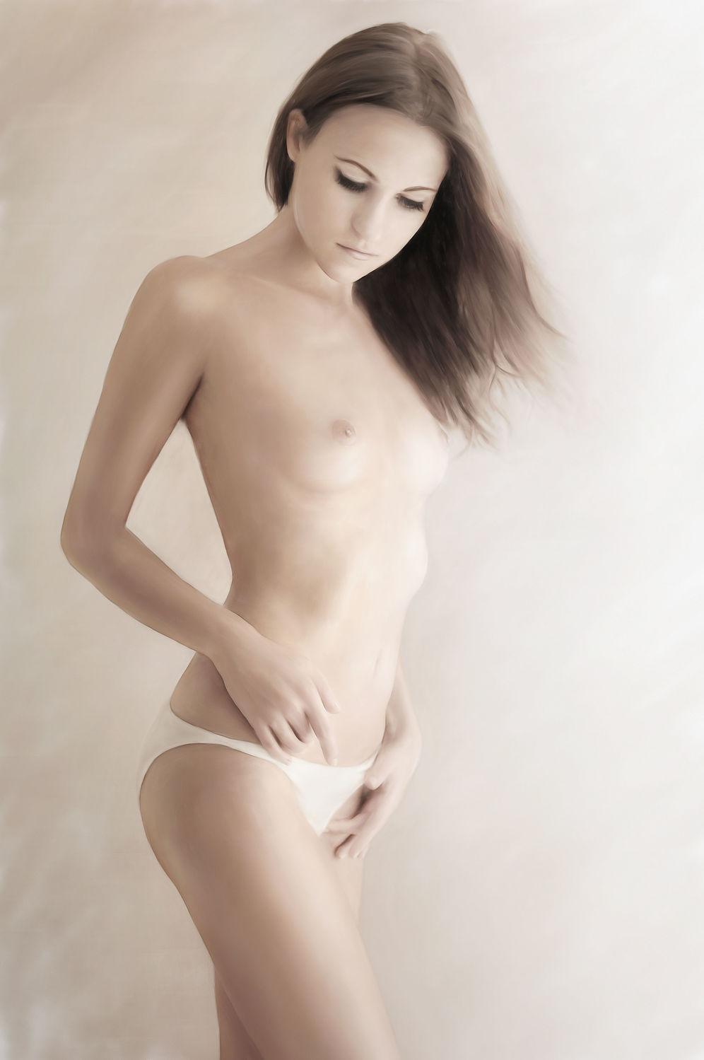 Bild mit nude, Akt, Schönheit, Frau, nackt, beauty, Hell, pastell, Mädchen, ästhetik