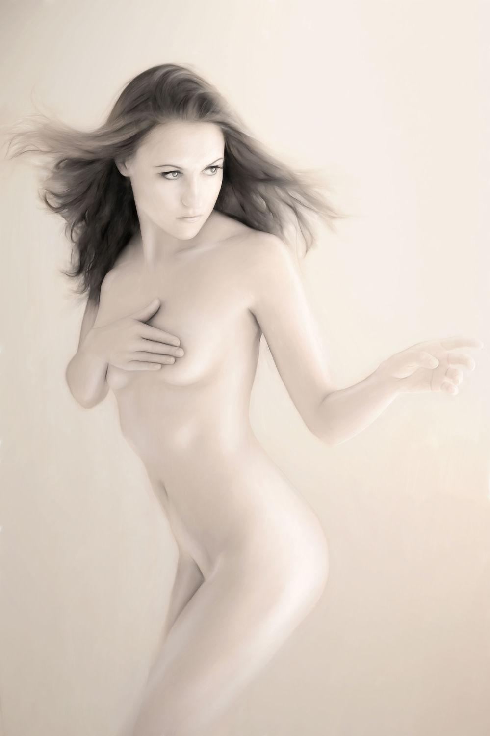 Bild mit nude, Akt, Tanz, Frau, nackt, Sexy, pastell
