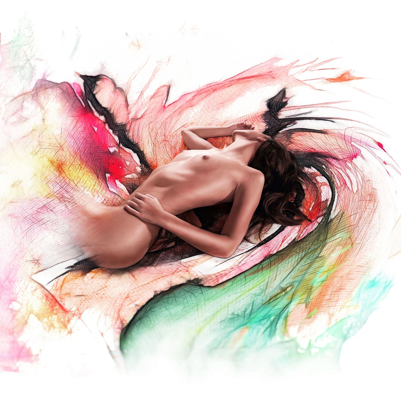 Bild mit nude, Akt, Aktmodel, Fotomodel, Aktbild, Aktaufnahme, Aktfoto, Aktfotografie