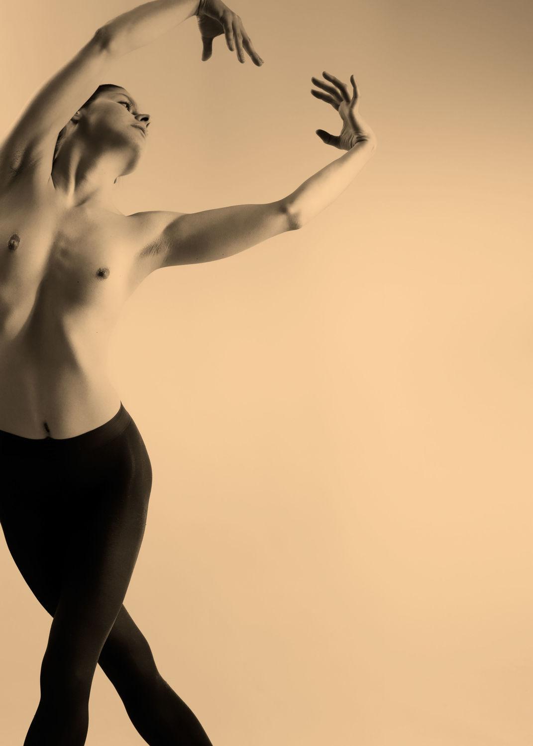 Bild mit Tänzerin