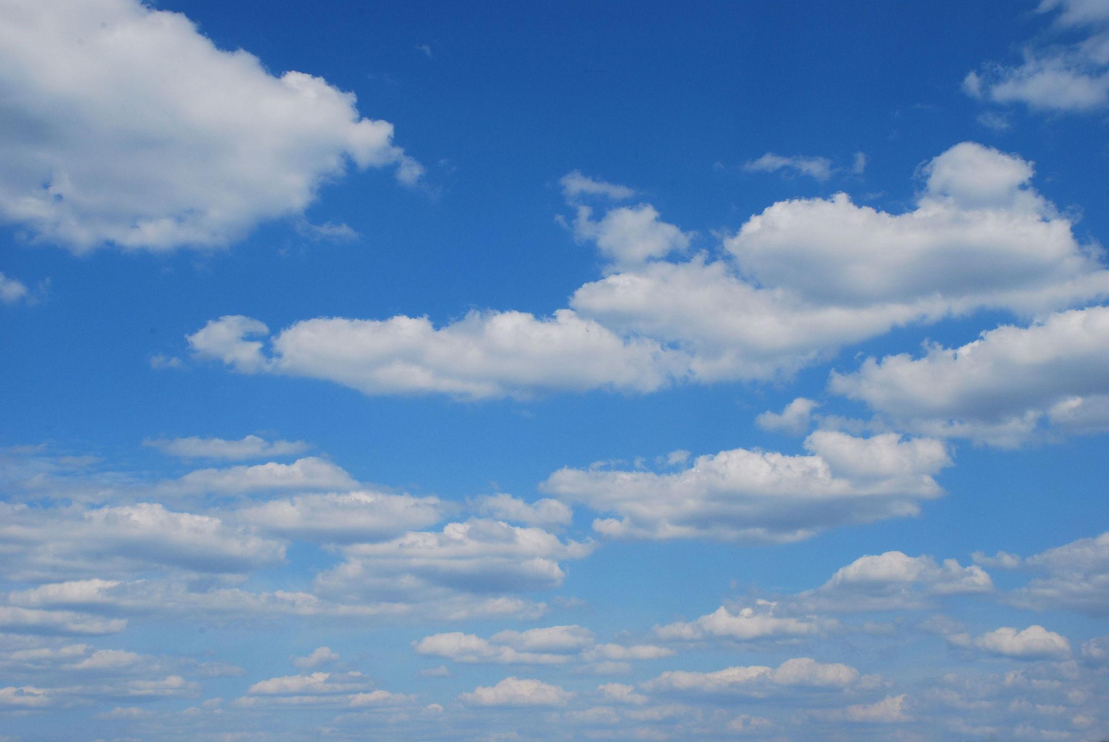 Bild mit Himmel, Wolken, Wolkenhimmel, Wolkengebilde, Sky, Wolke