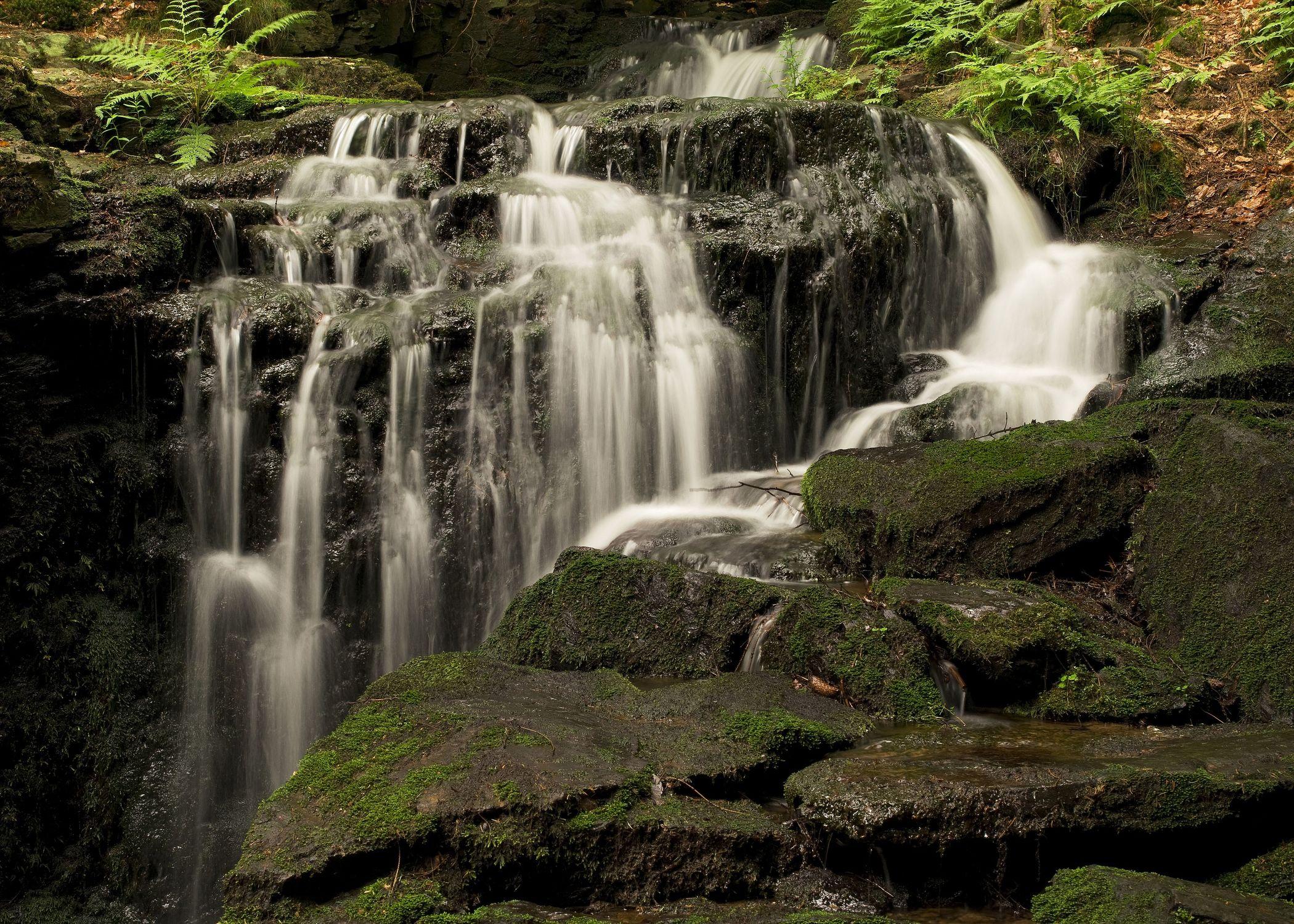 Bild mit Wasserfälle, Wasserfall, Natur und Landschaft