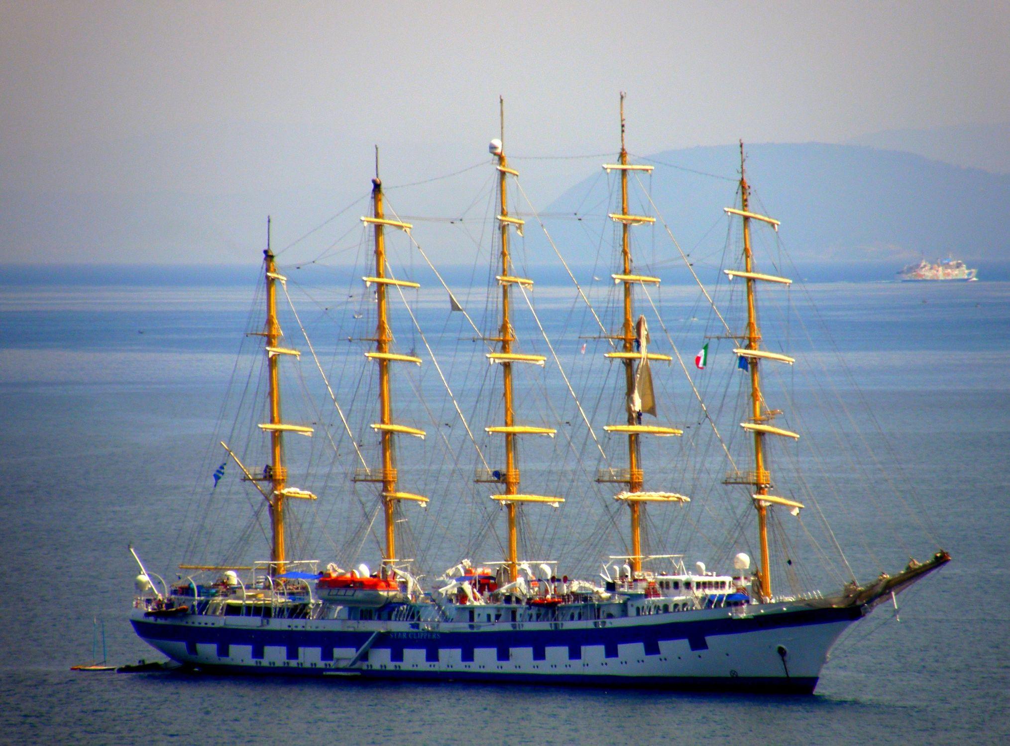 Bild mit Segelschiffe