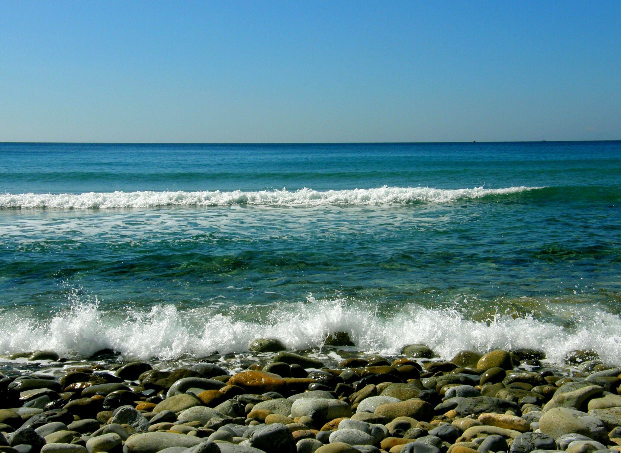 Bild mit Wasser, Gewässer, Strände, Urlaub, Italien, Strand, Meer, Sehnsucht nach Meer