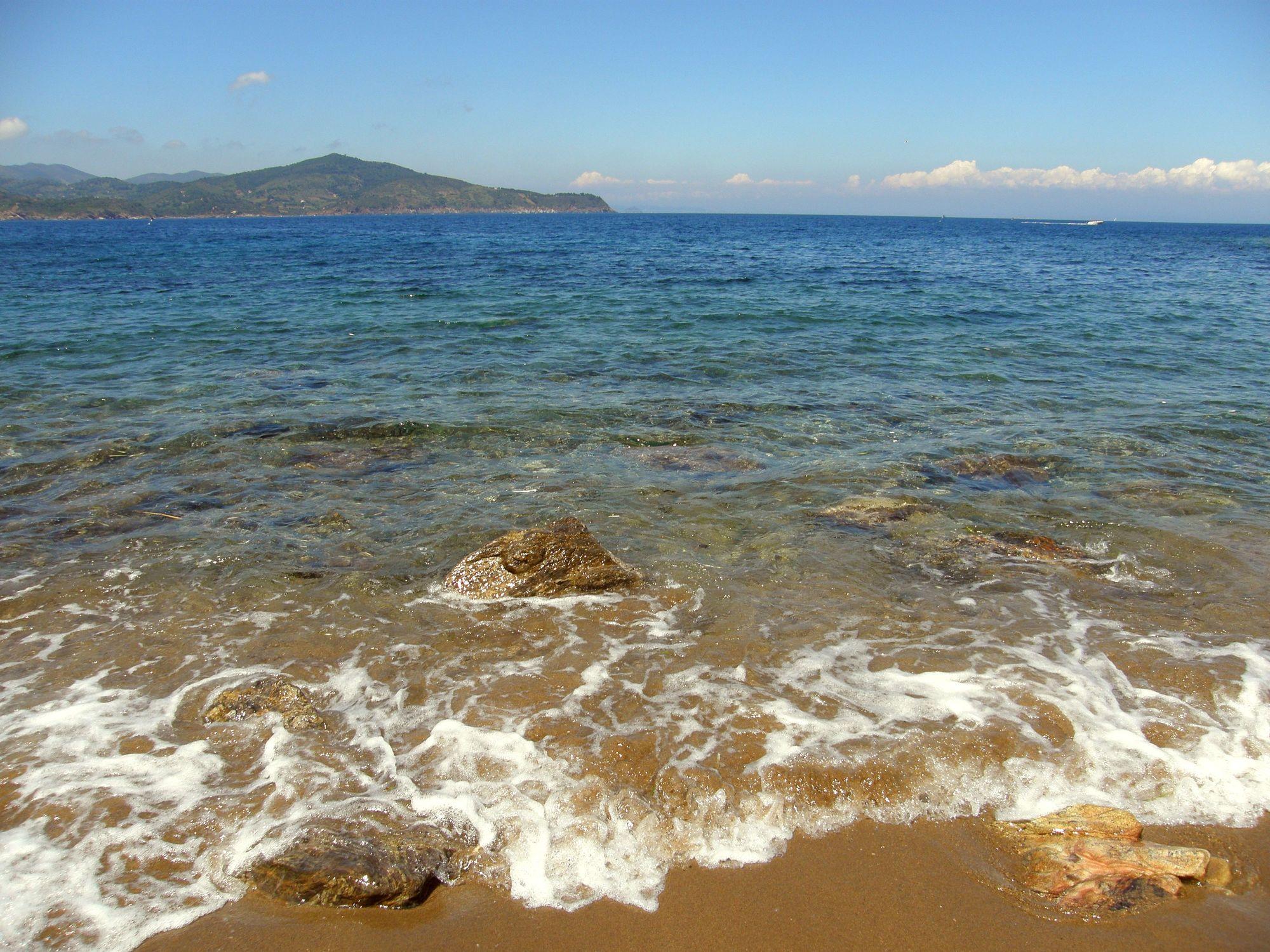 Bild mit Strände, Wellen, Italien, Strand, Meerblick, Meer, Sehnsucht nach Meer
