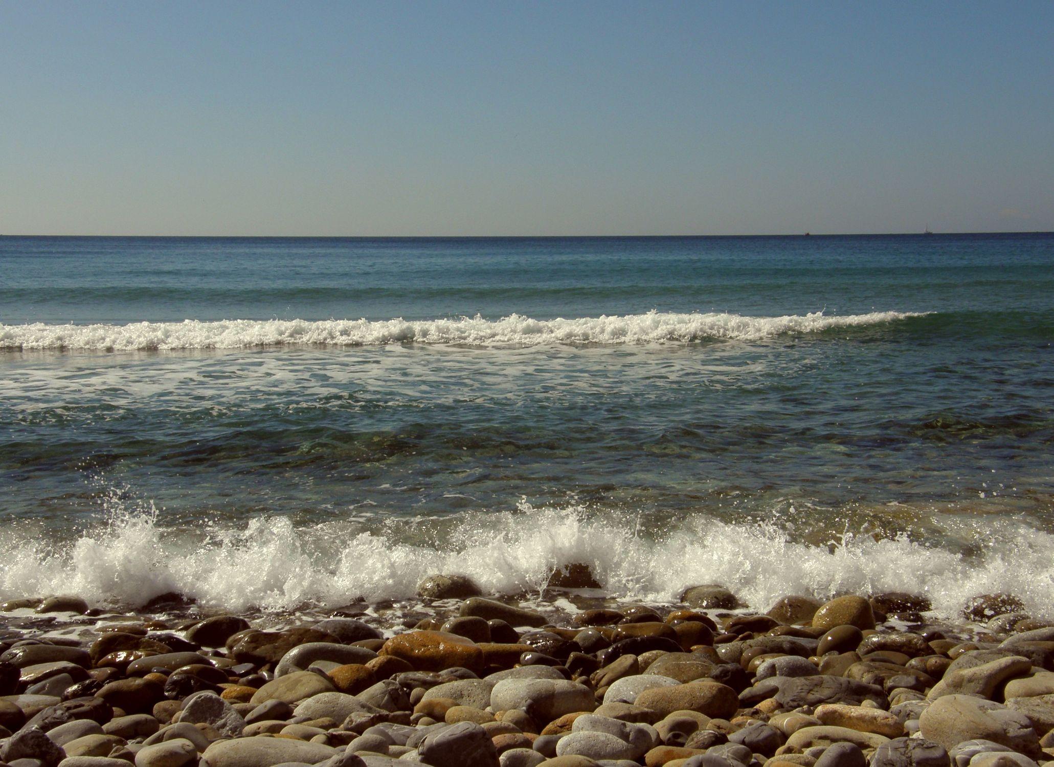 Bild mit Strände, Wellen, Italien, Strand, Meer, Insel, Sehnsucht nach Meer