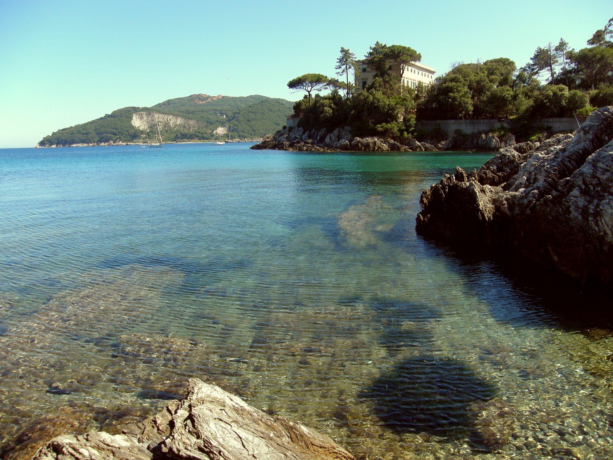 Bild mit Wasser, Strände, Urlaub, Italien, Strand, Meerblick, Meer, Insel, Sehnsucht nach Meer