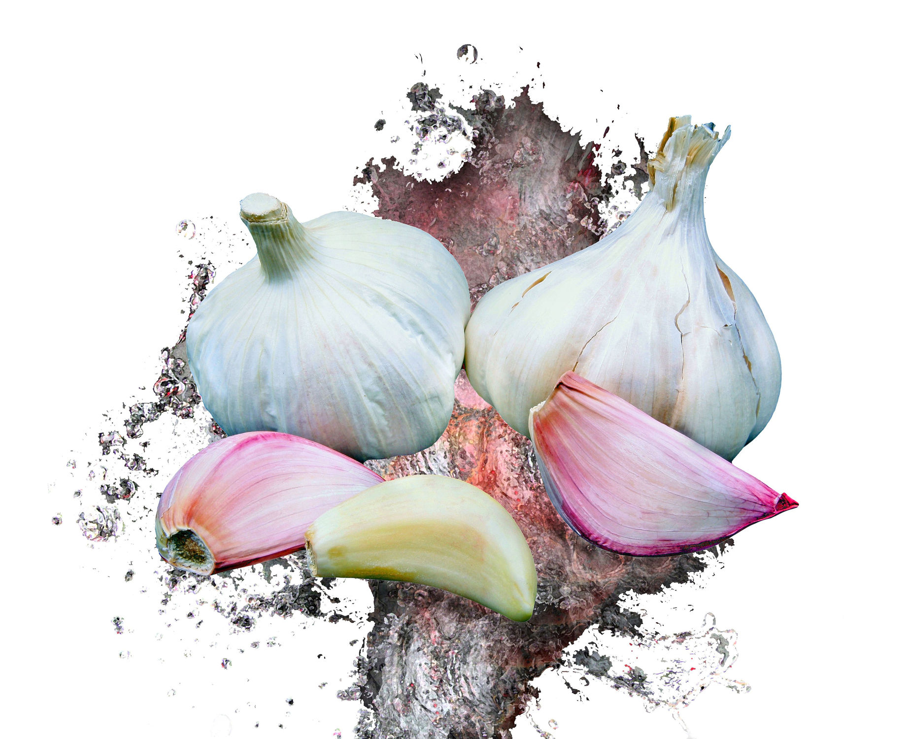 Bild mit Essen, Gemüse, Küchenbild, Food, Stilleben, Küchenbilder, Textur, Küche, Küche, Esszimmer, knoblauch, kochen, Gewürze