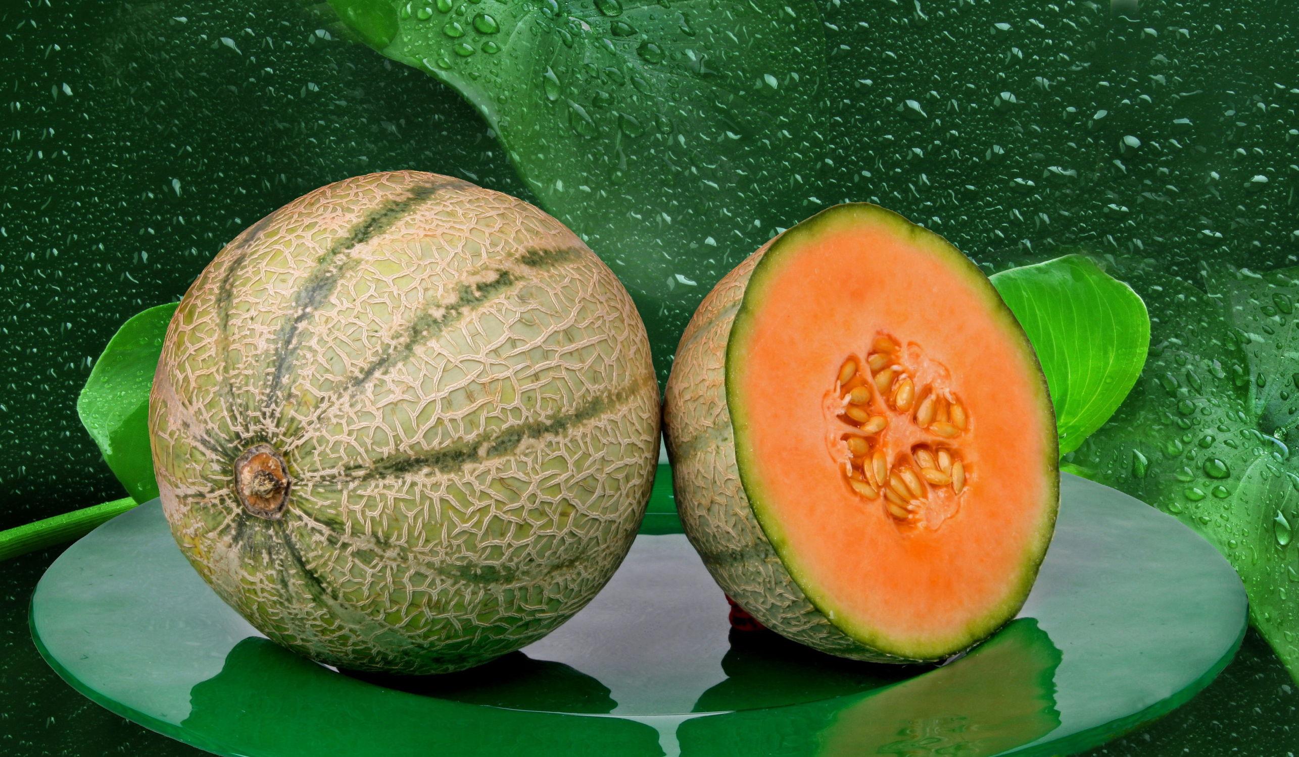 Bild mit Früchte, Frucht, Obst, Küchenbild, Food, Küchenbilder, KITCHEN, Küche, Küchen, melonen, melone