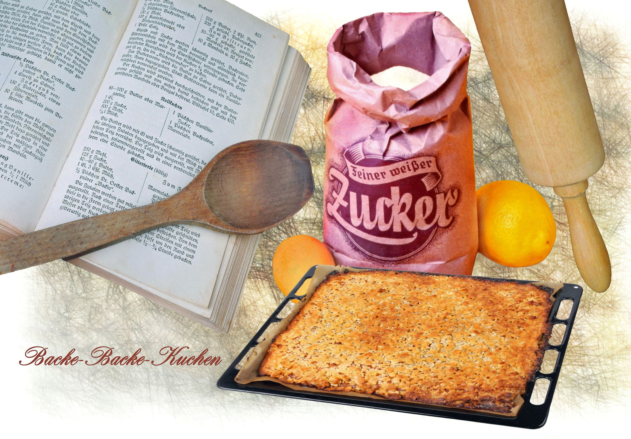 Bild mit Food, Stilleben, Textur, Küche, Küchen, Zitrone, Eier, Ei, kochen, Zucker, backen, zuckertüte, backrezepte, rezepte, kochbuch, kochlöffel, blechkuchen, nudelholz