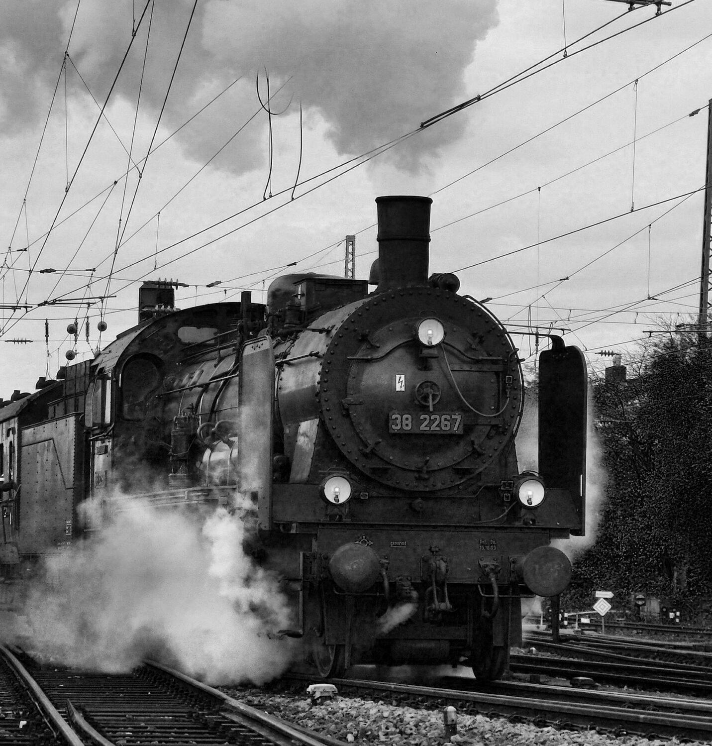 Bild mit Lokomotiven