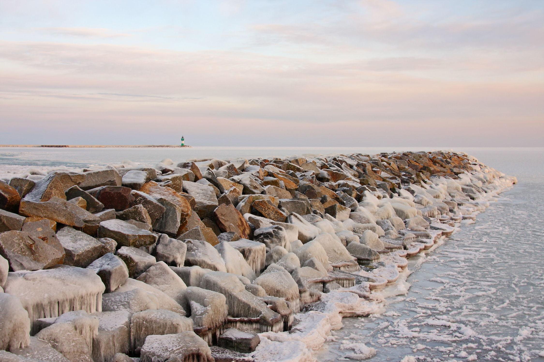 Bild mit Winteraufnahmen