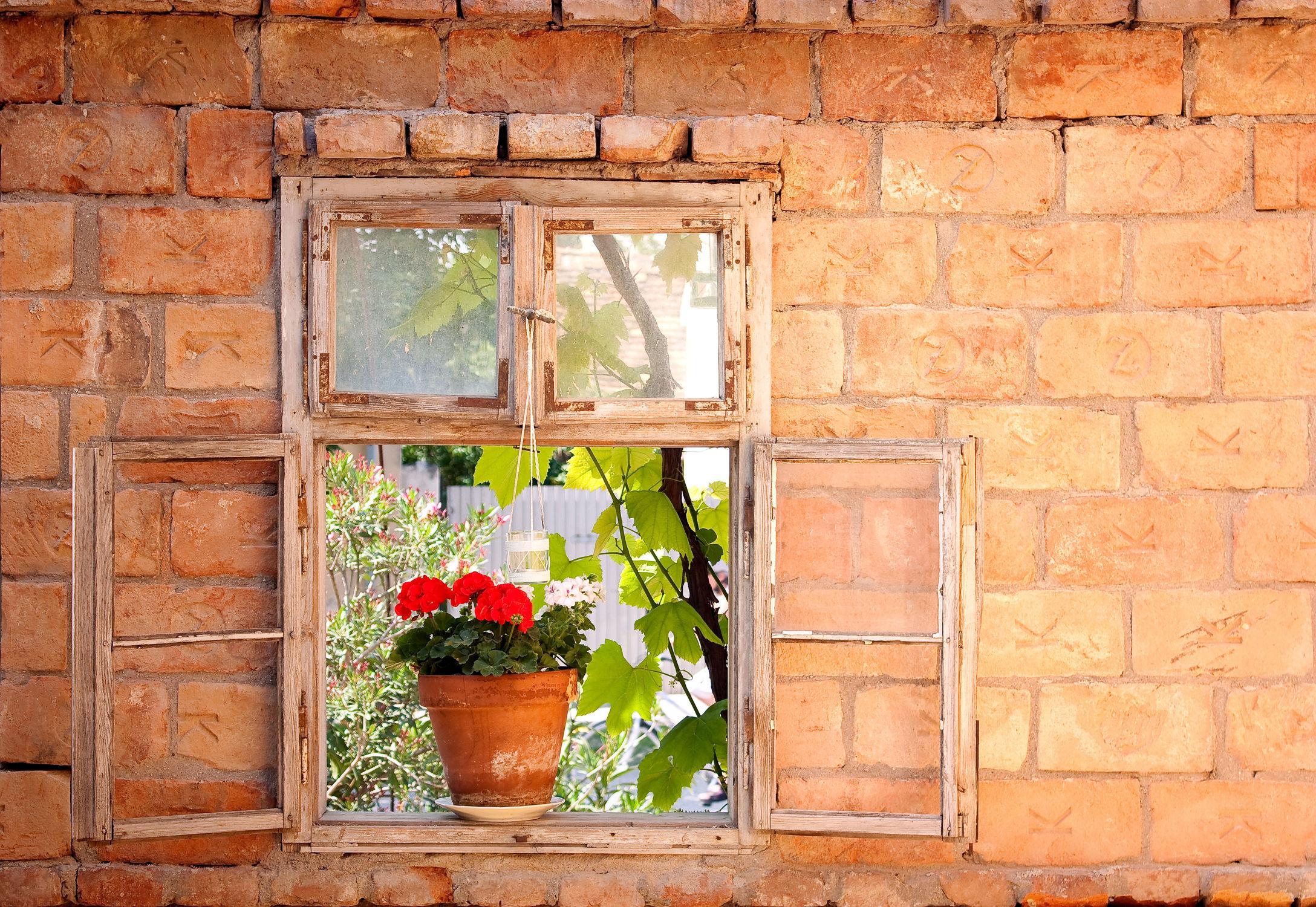 Bild mit Fenster, Künstlerisch, Fensterblick