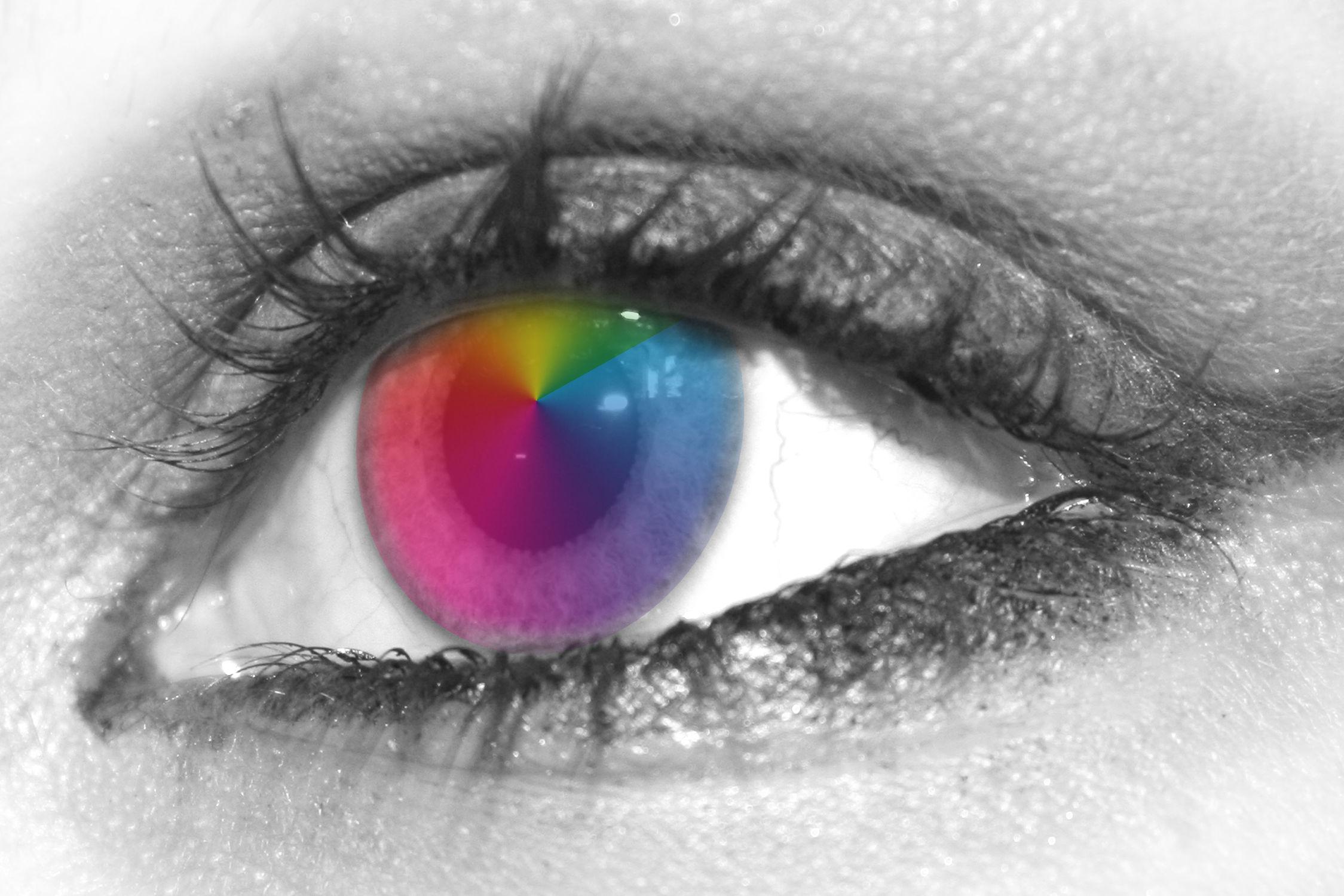 Bild mit Augen, Wimpern, Auge, Eye, Eyes, Menschenauge, menschliche Auge, Iris, Blick