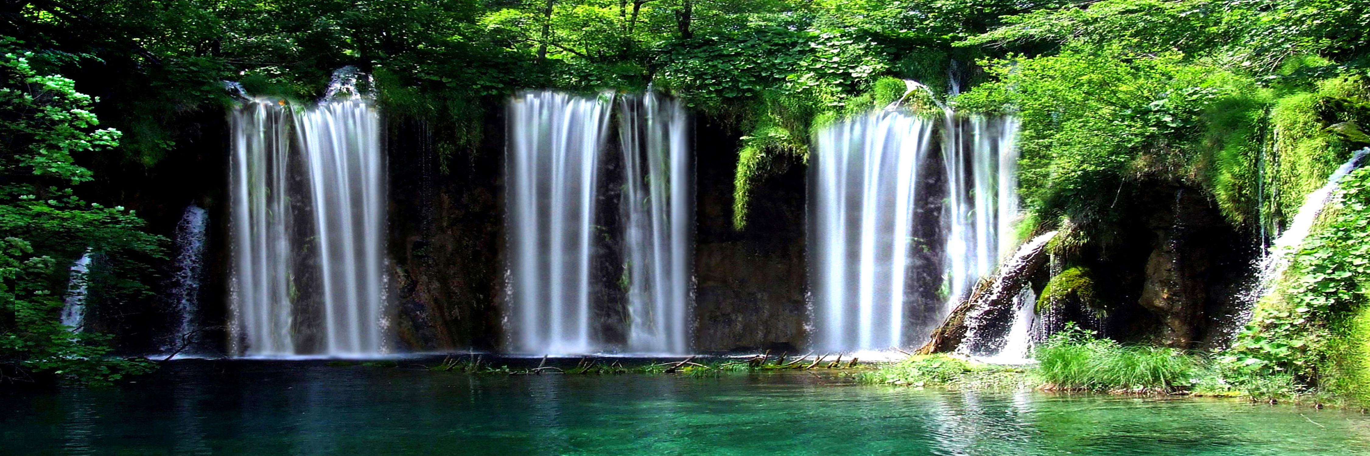 Bild mit Natur, Landschaften, Bäume, Gewässer, Wälder, Seen, Flüsse, Wasserfälle, Wald, Baum, Landschaft, See, Wasserfall, Fluss