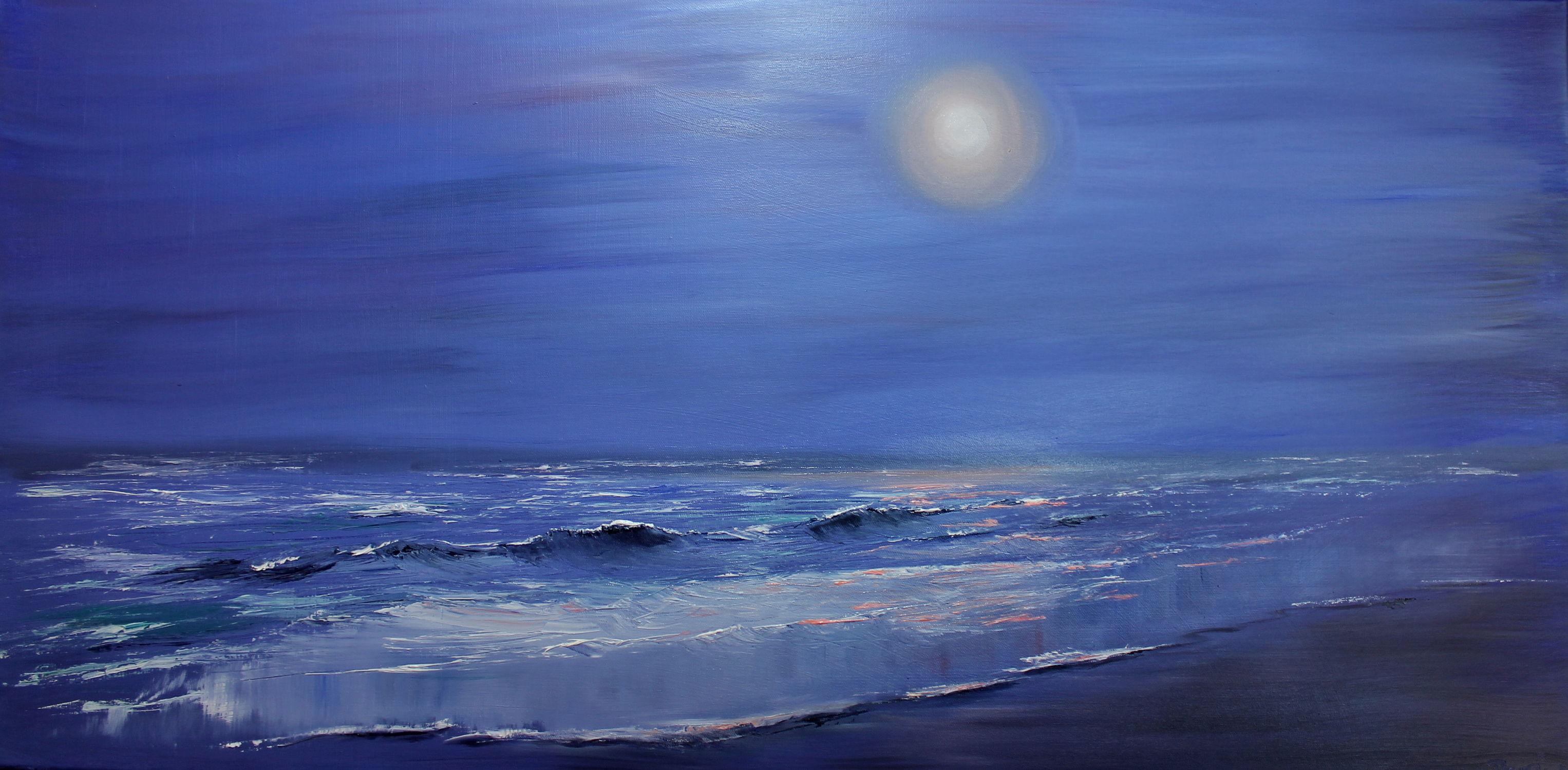 Bild mit Landschaftsmalerei