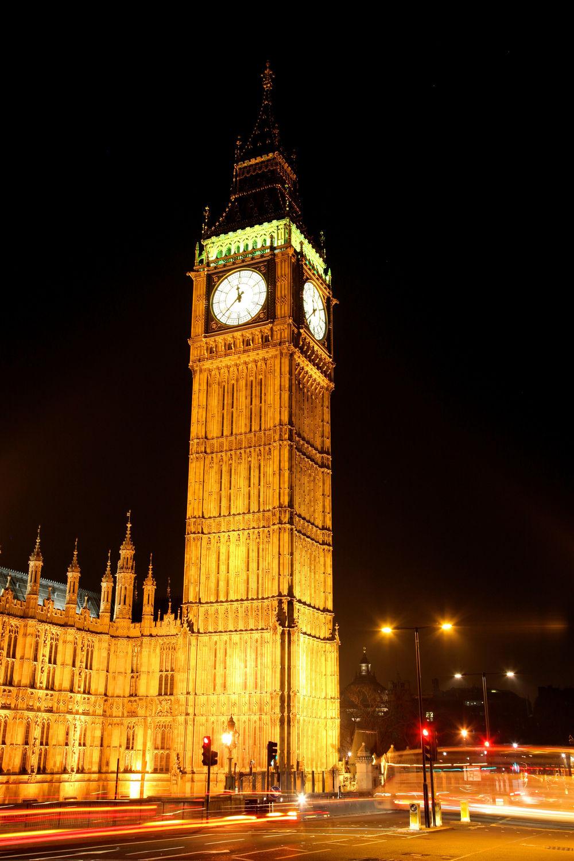 Bild mit Big Ben, Städte, London, Turmuhr, Sehenswürdigkeit, Stadt, City of London, City, Sehenswürdigkeiten, turm, Stadtleben, night