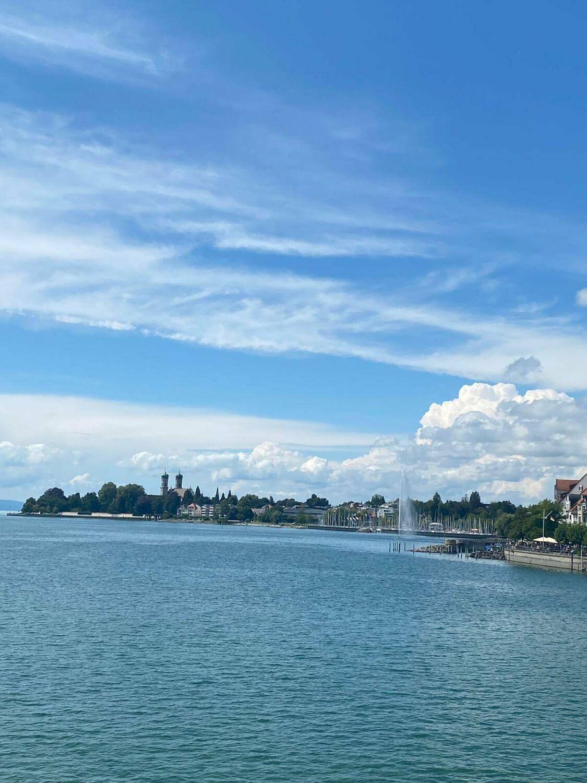 Bild mit Gewässer, Seen, Sonne, Sonnen Himmel, Bodensee