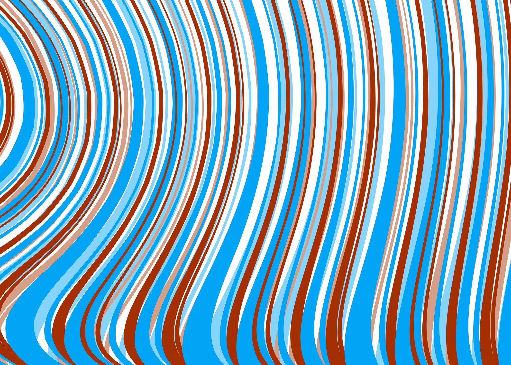 Bild mit Farben, Blau