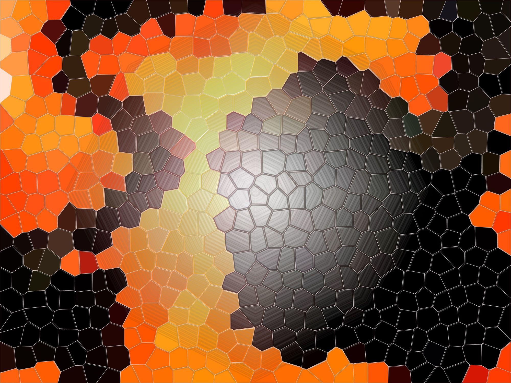 Bild mit Farben, Orange, Kunst, Illustration, Abstrakt, Abstrakte Kunst, Abstrakte Malerei, Kunstwerk