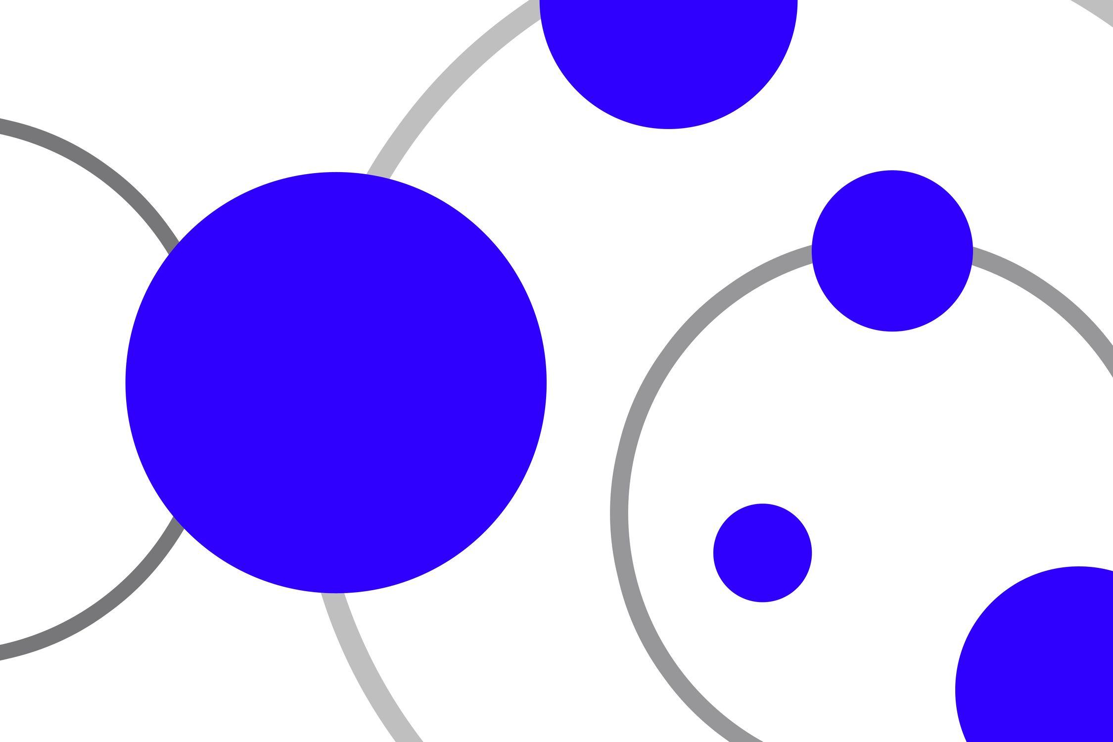 Bild mit Farben, Lila, Violett, Blau, Abstrakt, Abstrakte Kunst, Retro, Retro Art, Retro style