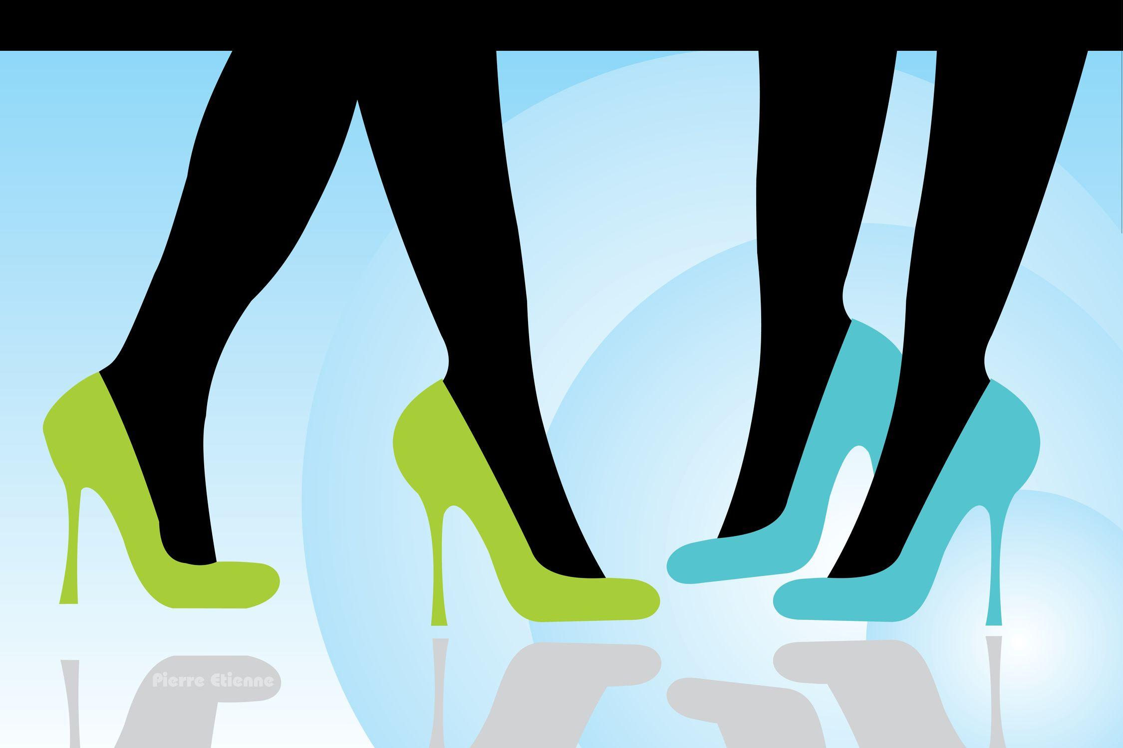 Bild mit Menschen, Körperteile, Beine, Kleidung und Accessoires, Schuhe
