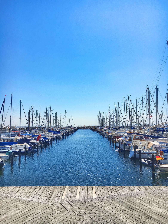 Bild mit Segelboote, Häfen, Grömitz, Hafenanlage, Yachthafen, Schleswig, Holstein, Ostholstein