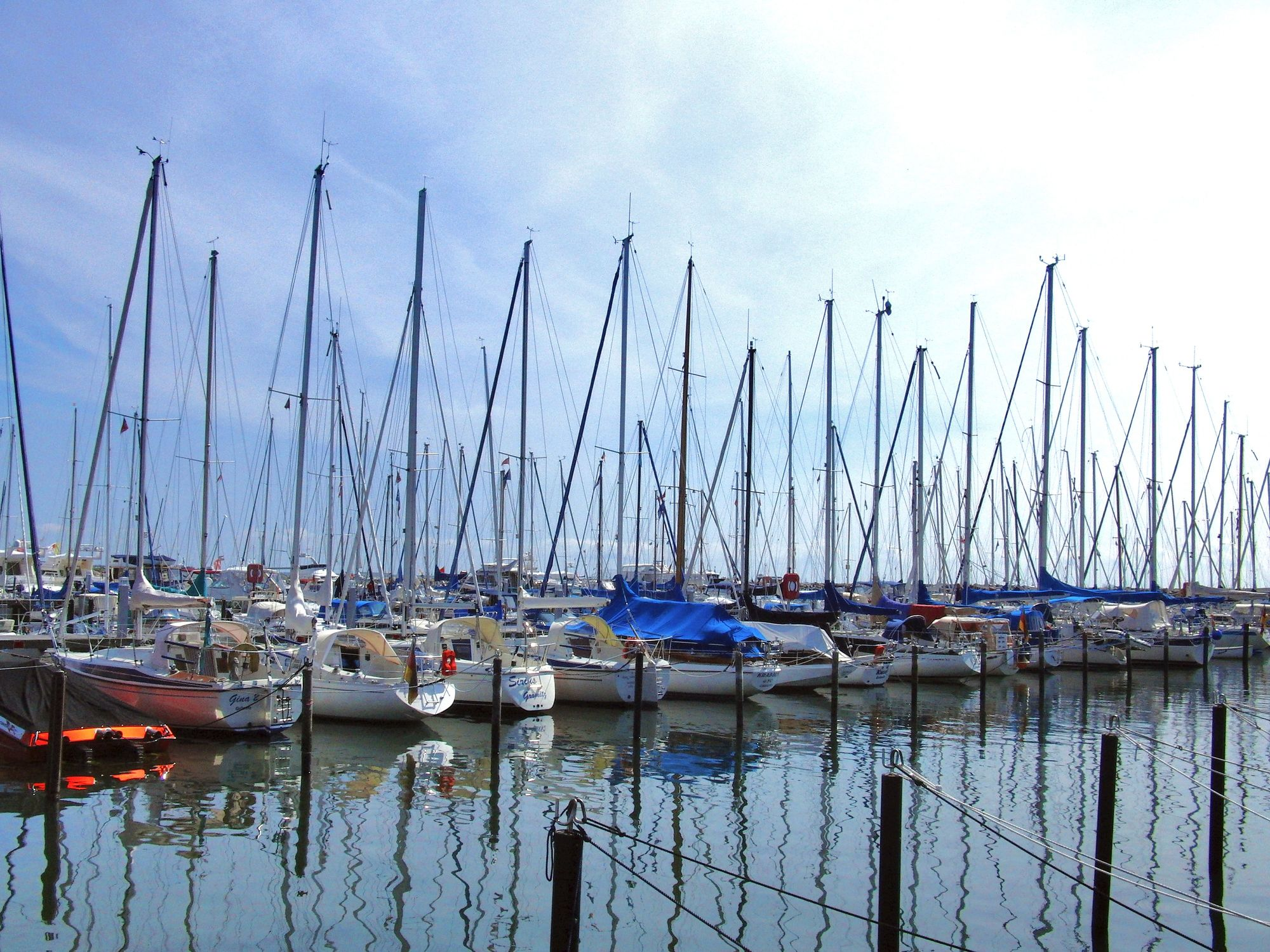 Bild mit Segelboote, Häfen