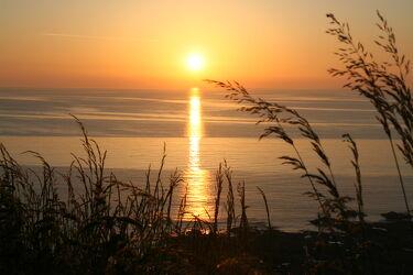 Bild mit Meere, Sonnenuntergang, Meer, Sonnenuntergänge, Abend am Meer, Abendstimmung, Sonnenuntergang am Meer