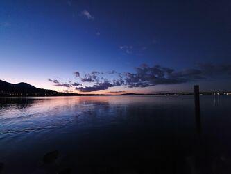 Bild mit Sonnenuntergang, Sunset, Night Views