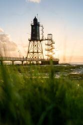 Bild mit Hafenstadt, Landschaft, Nordsee, Küste, Sonnenauf/untergang, Wattenmeer, bauwerk, Historisch, Leuchtturm, Cuxhaven