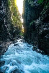 Bild mit Wasser, Berge, Gletscher, Felsen, Alpen, Landschaft, Licht, Fluss, Bayern