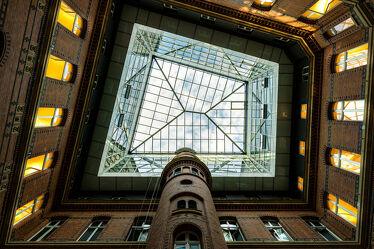 Bild mit Architektur, Städte, Glas, Fenster, Klinker, Mauer, Hamburg