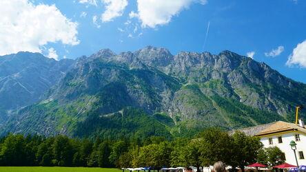 Bild mit Berge und Hügel, Berge, in den Bergen, königssee