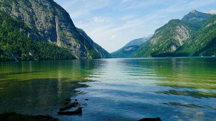 Bild mit Natur, Seen, Urlaubsbild, Urlaubsfoto, See, königssee