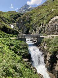 Bild mit Österreich, Alpen, Brücke, Wasserfall