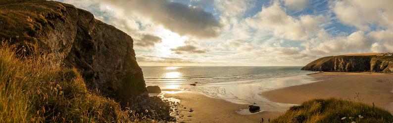 Bild mit Natur,Wasser,Berge,Gewässer,Felsen,Sonnenuntergang,Sonnenaufgang,Strand,Sandstrand,Küste,Am Meer,ozean