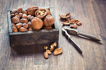 Bild mit Nüsse, Walnüsse, Food, Küchenbilder, KITCHEN, wandtapete, Küche, Küchen, Walnuss