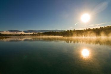 Sunrise at Boya-Lake