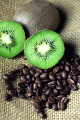 Kaffeebohnen Kiwi