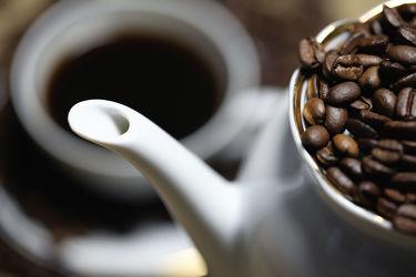 Bohnenkaffee Küchenbild
