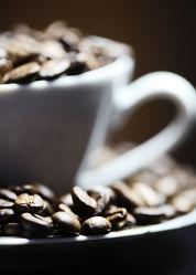 Kaffeebohnen Tasse