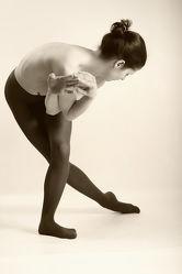 Nackte Tänzerin Fotografie 2010