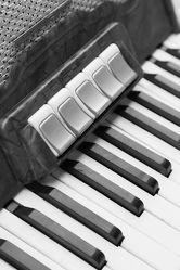 Bild mit Kunst, Musikinstrumente, Klavier, Instrument, Piano, Musik, schwarz weiß, SW