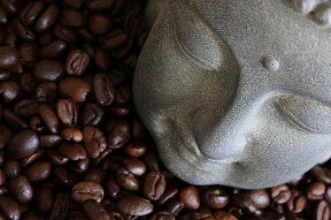 Bild mit Küchenbild, Küchenbilder, Kaffee Buddha, KITCHEN, kaffee, Küche