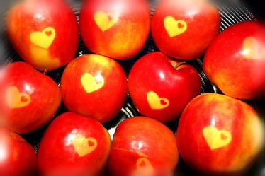 Bild mit Früchte,Lebensmittel,Frucht,Apfel,Apfel