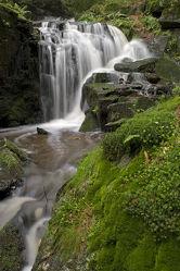 Muglbach Wasserfall nach Gewitter