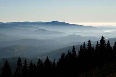 Herbst im Bayerischen Wald
