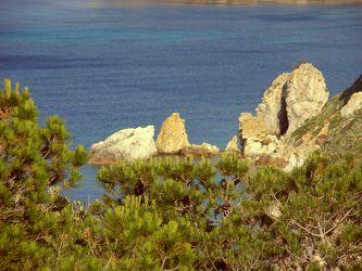 Felsgruppe am Meer