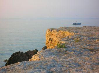 Französische Steilküste